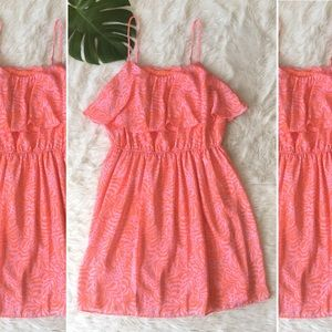 Lilly Pulitzer Target Ruffle Flounce Giraffe dress